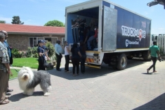 Ithokomeleng Association in Alexandra with Radio 702's Truck of Love